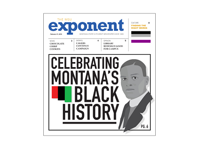 Front page of the February 21, 2019 MSU Exponent newspaper