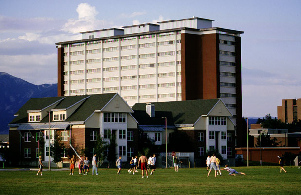Residence Halls at MSU in Bozeman