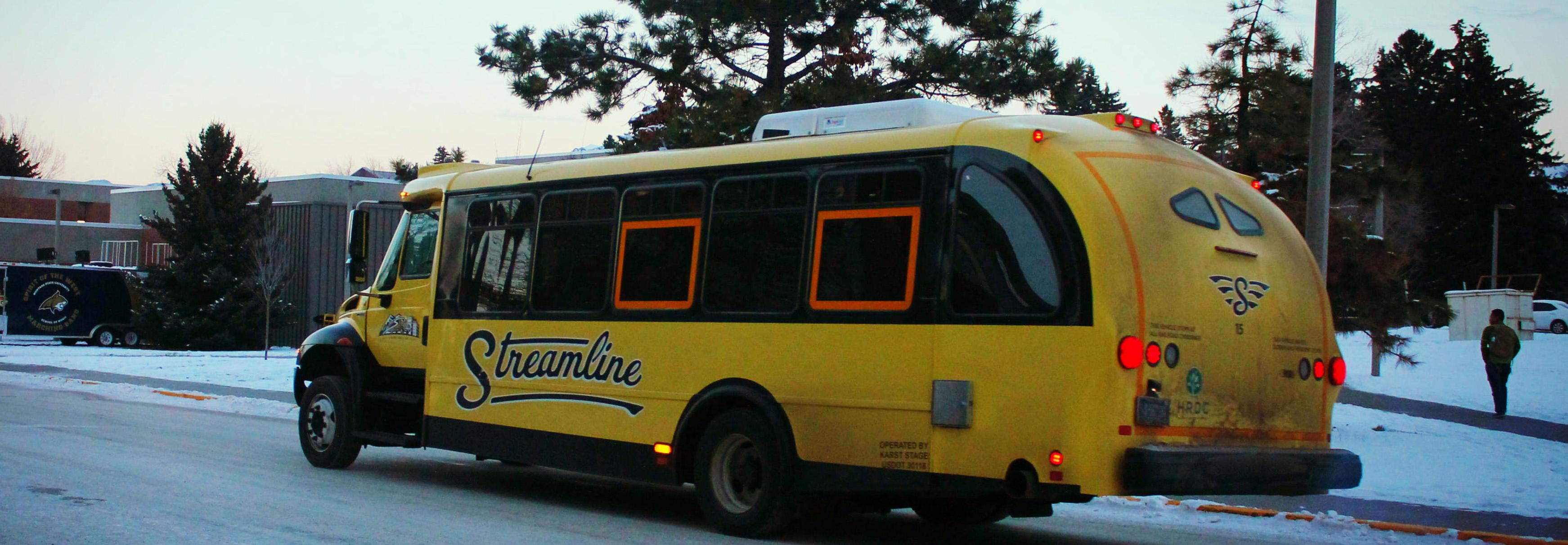 The Streamline is a great way to get around.