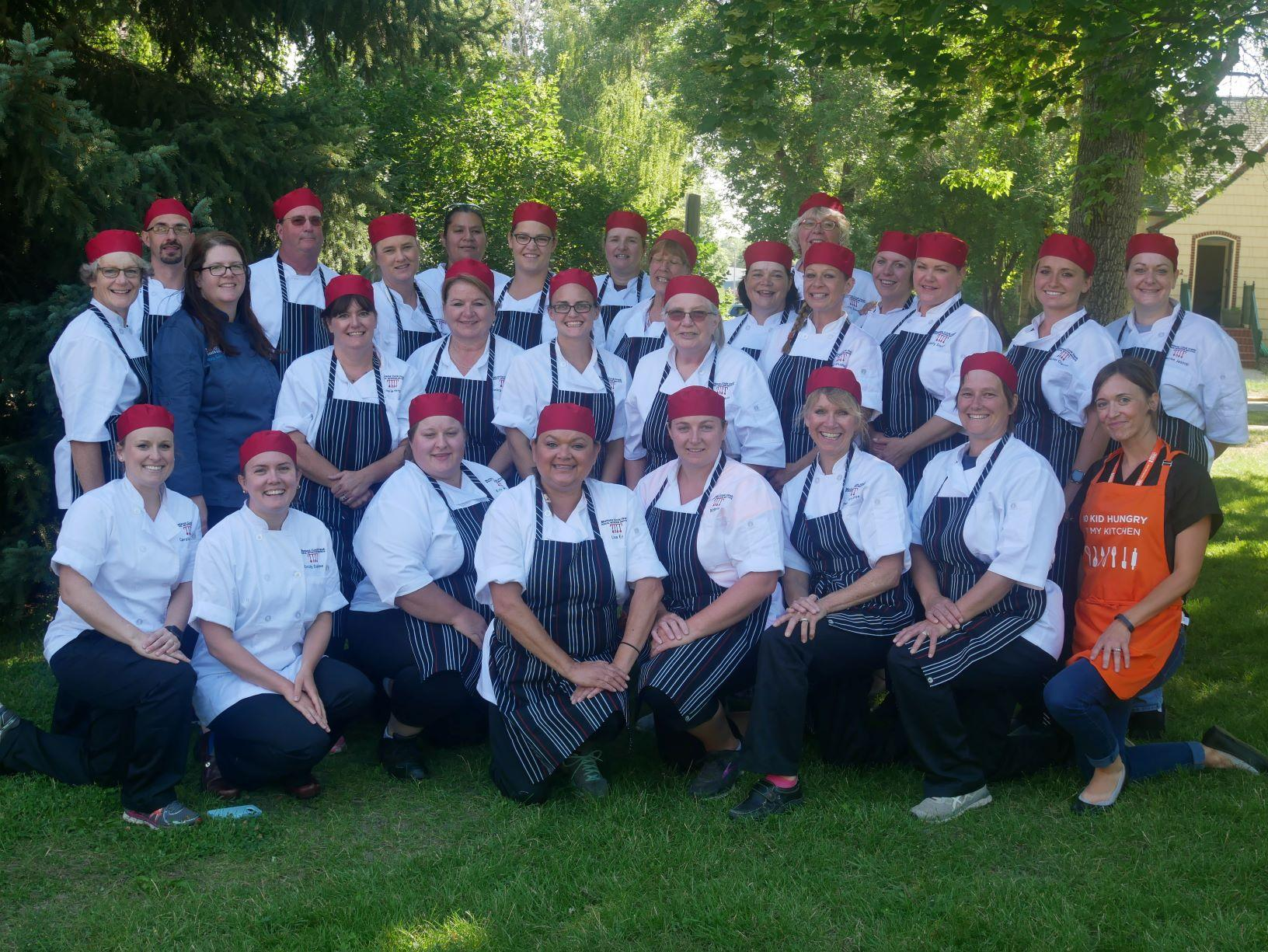 2018 Montana Cook Fresh Institute Class