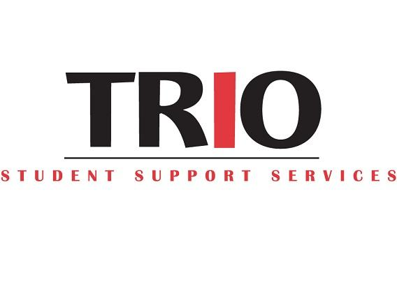 "TRIO logo that reads, ""TRiO: Student Support Service"""