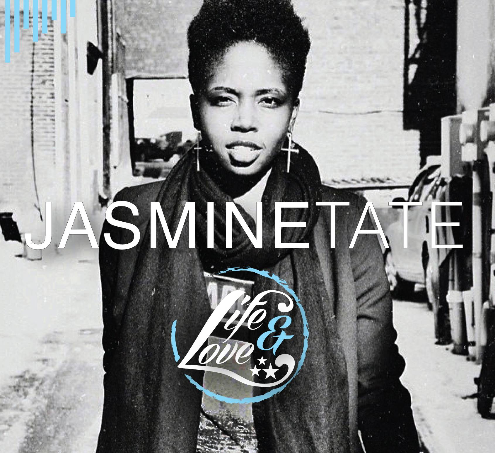 Album cover for Jasmine Tate's album: Life & Love