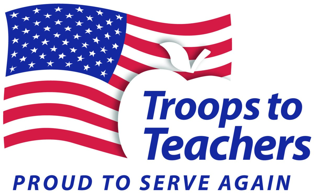troops to teachers logo