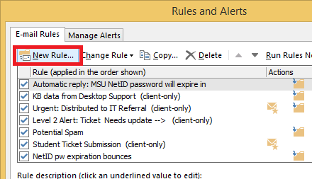 Forwarding Email from Outlook (Windows) - Office 365   Montana State  University