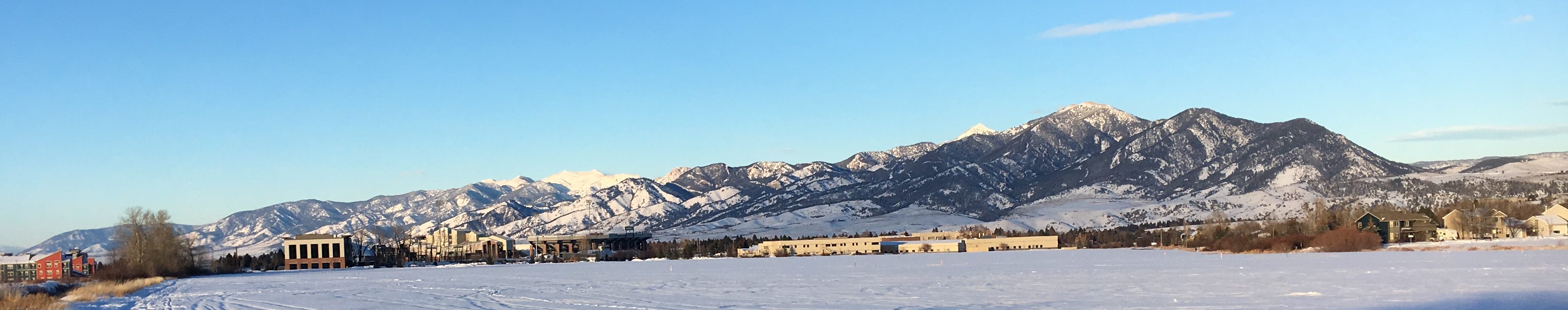Bridger Range viewed from south.