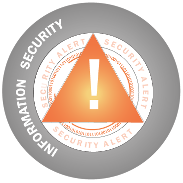 Information Security circle icon