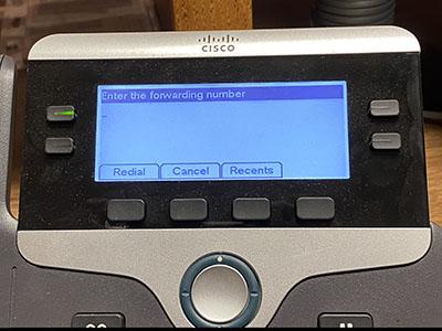 image of 7841 phone display
