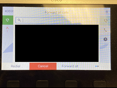image of 7842 phone display