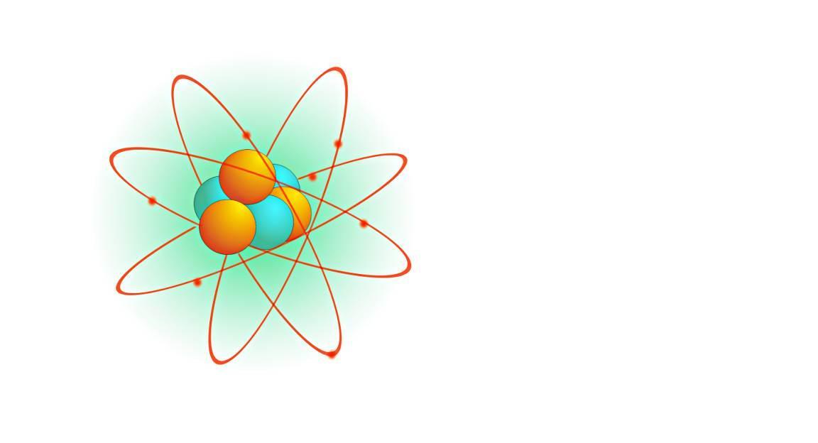 Clip art - atom.