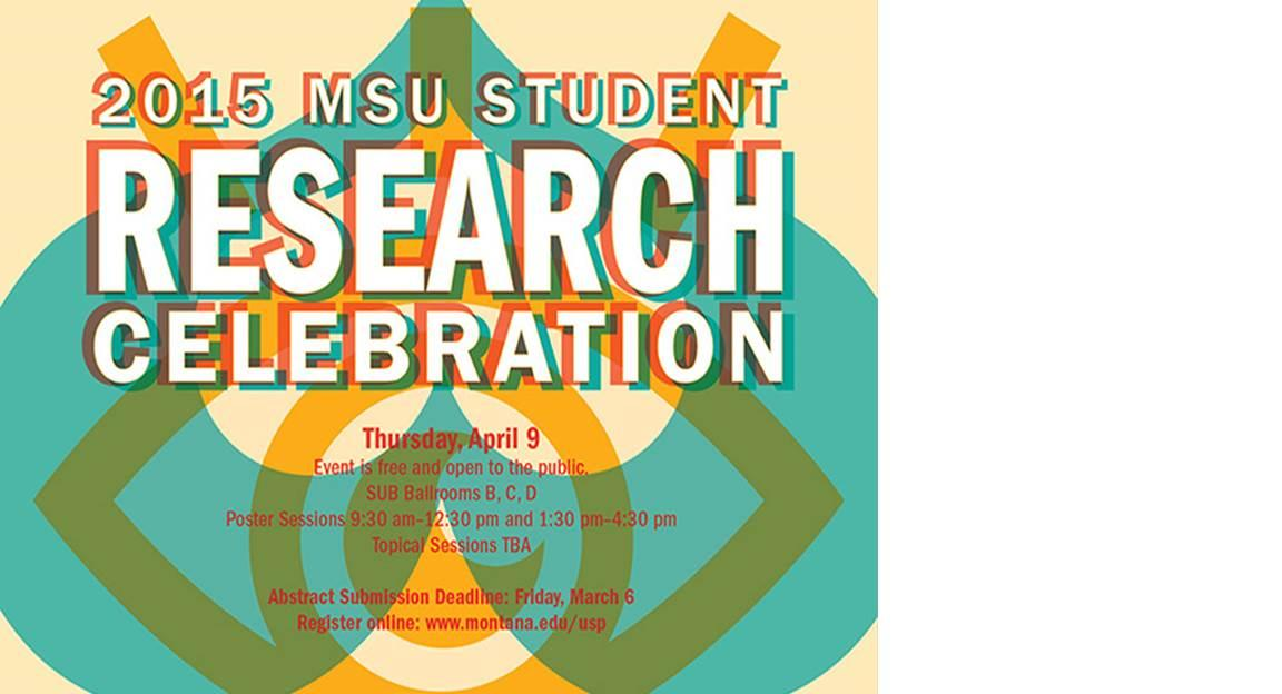 2015 Student Research Celebration Poster.