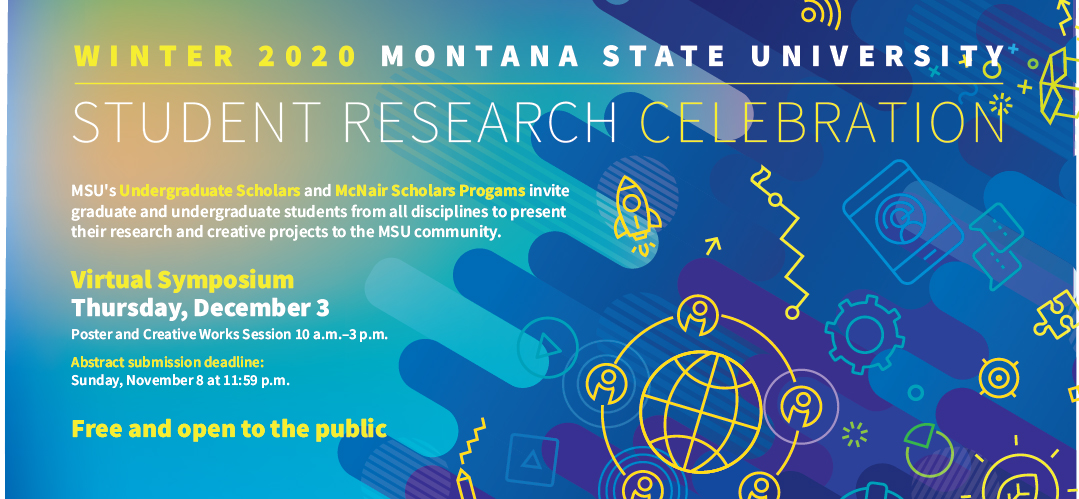 Student Research Celebration poster for Fall 2020