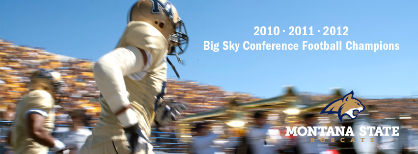 2010, 2011, 2012 Big Sky Conference Football Champions