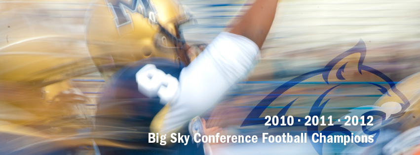 2010, 2011 & 2012 Big Sky Conference Football Champions