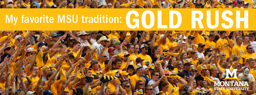 My favorite MSU tradition - Gold Rush