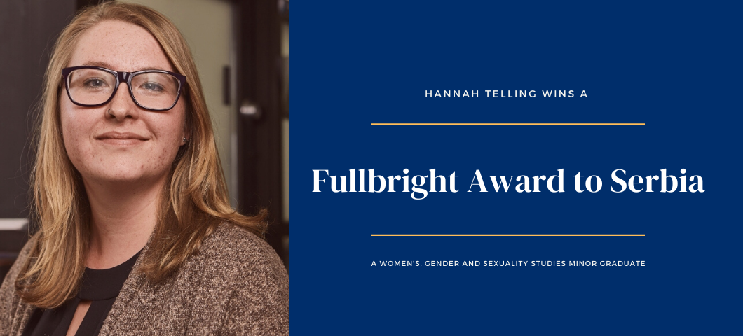 Hannah Telling, Fullbright award 2020