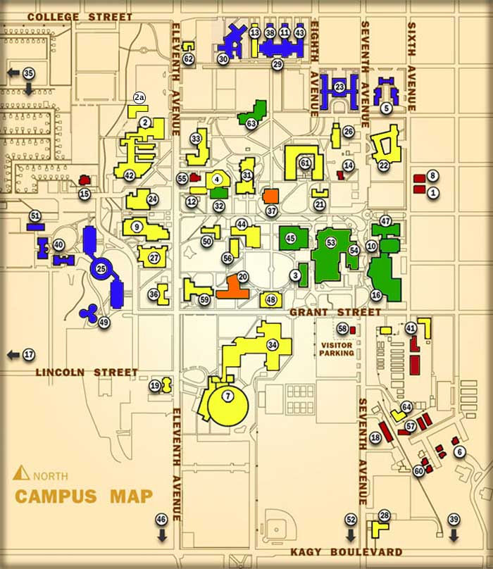 Montana State University Campus Map   2016 Car Release Date