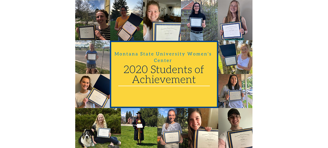 2020 Students of Achievement photo collage
