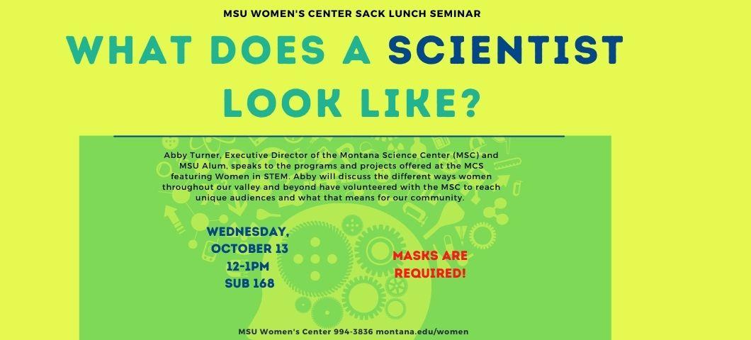 Sack Lunch Seminar Poster