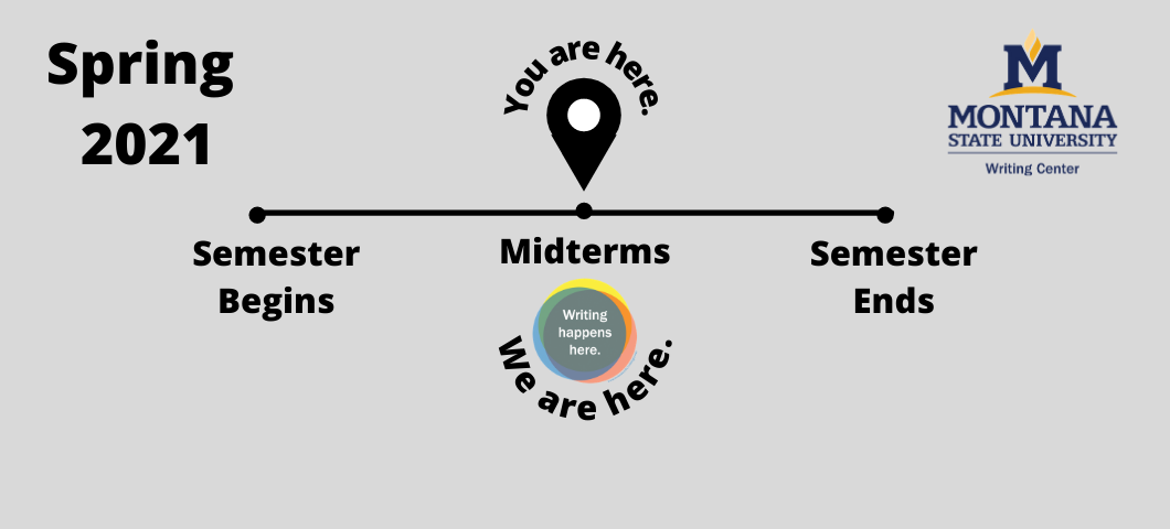 Midterms are here. Schedule an appointment now to work on your midterm assignments or to get a head start on your final projects. Now is the time!