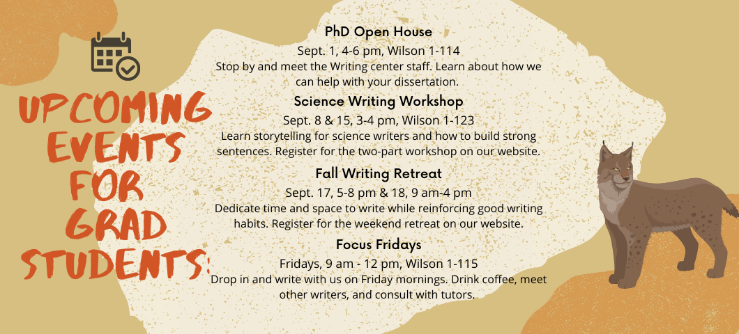 Events for Graduate Students