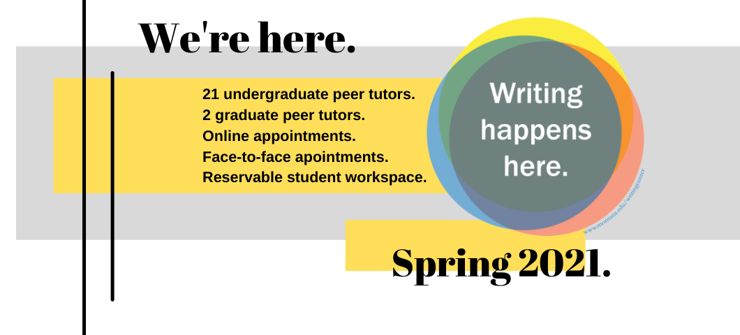 Spring 2021 Meet the Tutors