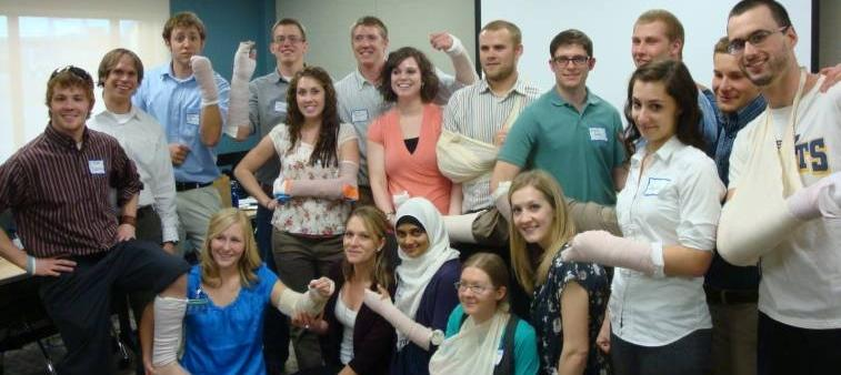 The Billings Residency Program put on their annual casting class for the E'11 WWAMI Students.