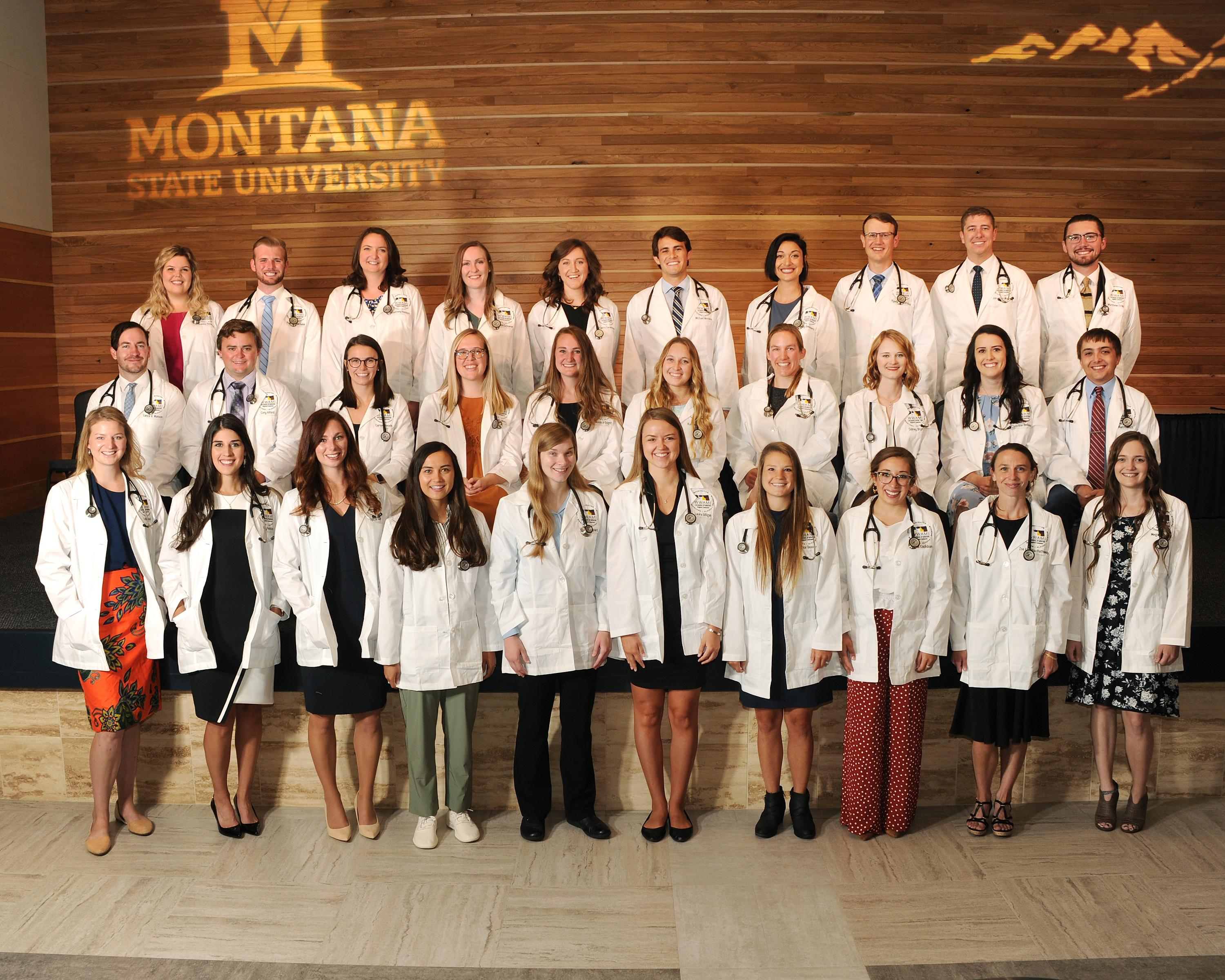 The E19 Students received their White Coats on August 30, 2019 after completing Immersion and Orientation.