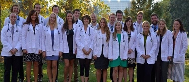 The E'12 Students were given White Coats to mark their transition into the Clinic on Friday, September 28th, 2012