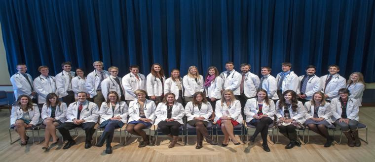 The E'13 Students were given White Coats to mark their transition into the Clinic on Friday, September 27th, 2013