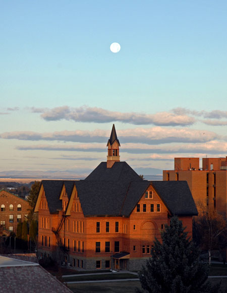 moon over MT hall